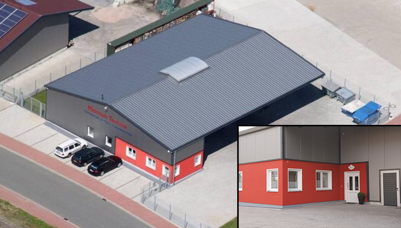 Terdues GmbH in Ahaus das Betriebsgebauede